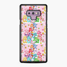 Load image into Gallery viewer, Care Bears Love 3 Samsung Galaxy Note 9 Case, Black Plastic Case