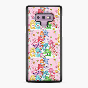 Care Bears Love 3 Samsung Galaxy Note 9 Case, Black Plastic Case