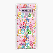 Load image into Gallery viewer, Care Bears Love 3 Samsung Galaxy Note 9 Case, White Plastic Case