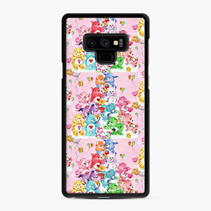 Care Bears Love 3 Samsung Galaxy Note 9 Case, Black Rubber Case