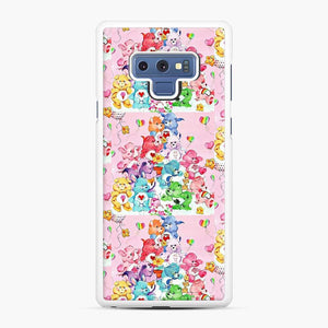 Care Bears Love 3 Samsung Galaxy Note 9 Case, White Rubber Case