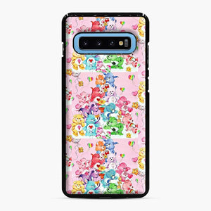 Care Bears Love 3 Samsung Galaxy S10 Case, Black Plastic Case