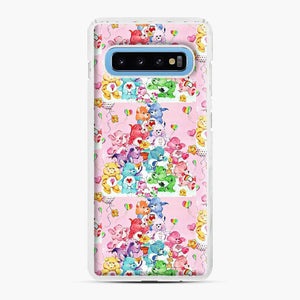 Care Bears Love 3 Samsung Galaxy S10 Case, White Plastic Case