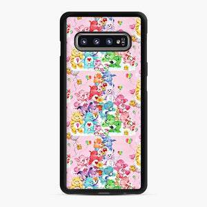 Care Bears Love 3 Samsung Galaxy S10 Case, Black Rubber Case