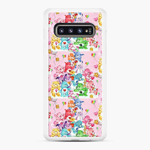 Care Bears Love 3 Samsung Galaxy S10 Case, White Rubber Case