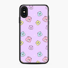 Load image into Gallery viewer, Care Bears Love 5 iPhone XS Max Case, Black Plastic Case