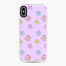 Load image into Gallery viewer, Care Bears Love 5 iPhone XS Max Case, White Plastic Case