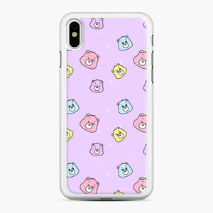 Care Bears Love 5 iPhone XS Max Case, White Rubber Case
