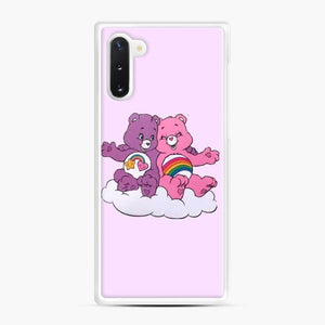 Care Bears Love 7 Samsung Galaxy Note 10 Case, White Rubber Case