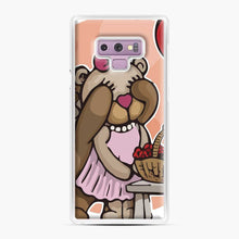 Load image into Gallery viewer, Care Bears Love 8 Samsung Galaxy Note 9 Case, White Plastic Case