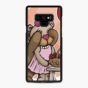 Care Bears Love 8 Samsung Galaxy Note 9 Case, Black Rubber Case