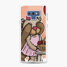 Load image into Gallery viewer, Care Bears Love 8 Samsung Galaxy Note 9 Case, White Rubber Case