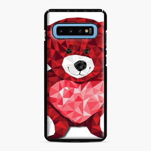 Care Bears Love 9 Samsung Galaxy S10 Case, Black Plastic Case