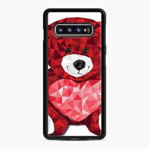Care Bears Love 9 Samsung Galaxy S10 Case, Black Rubber Case