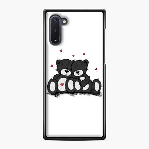 Care BearsGift Of Love 2 Samsung Galaxy Note 10 Case, Black Plastic Case