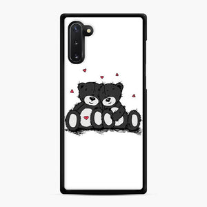 Care BearsGift Of Love 2 Samsung Galaxy Note 10 Case, Black Rubber Case