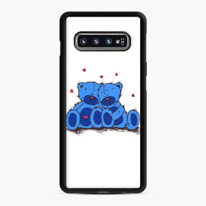 Care BearsGift Of Love 8 Samsung Galaxy S10 Case, Black Rubber Case