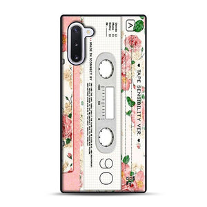 Cassette Tape Sensibility Ver Samsung Galaxy Note 10 Case, Black Plastic Case | Webluence.com