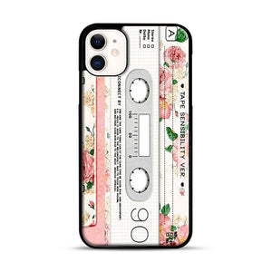 Cassette Tape Sensibility Ver iPhone 11 Case.jpg, Black Rubber Case | Webluence.com