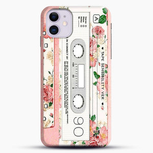 Cassette Tape Sensibility Ver iPhone 11 Case.jpg, Snap Case | Webluence.com