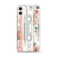 Load image into Gallery viewer, Cassette Tape Sensibility Ver iPhone 11 Case.jpg, White Rubber Case | Webluence.com