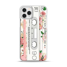 Load image into Gallery viewer, Cassette Tape Sensibility Ver iPhone 11 Pro Case, White Plastic Case | Webluence.com