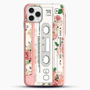 Cassette Tape Sensibility Ver iPhone 11 Pro Case, Snap Case | Webluence.com