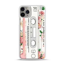 Load image into Gallery viewer, Cassette Tape Sensibility Ver iPhone 11 Pro Max Case.jpg, White Plastic Case | Webluence.com
