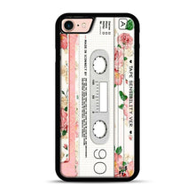 Load image into Gallery viewer, Cassette Tape Sensibility Ver iPhone 7/8 Case.jpg, Black Rubber Case | Webluence.com