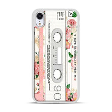 Load image into Gallery viewer, Cassette Tape Sensibility Ver iPhone XR Case, White Plastic Case | Webluence.com