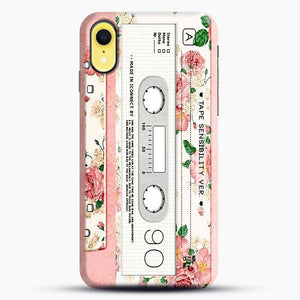 Cassette Tape Sensibility Ver iPhone XR Case, Snap Case | Webluence.com