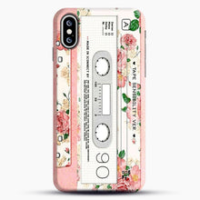 Load image into Gallery viewer, Cassette Tape Sensibility Ver iPhone XS Max Case, Snap Case | Webluence.com