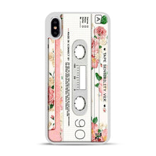 Load image into Gallery viewer, Cassette Tape Sensibility Ver iPhone XS Max Case, White Plastic Case | Webluence.com