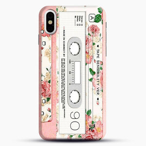 Cassette Tape Sensibility Ver iPhone X/XS Case, Snap Case | Webluence.com