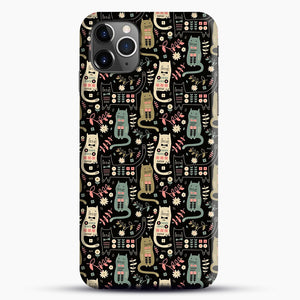 Cat Folk iPhone 11 Pro Max Case.jpg, Snap Case | Webluence.com