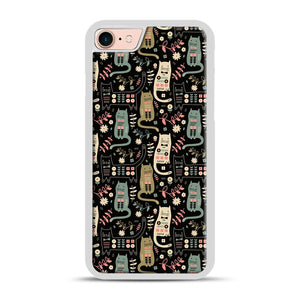Cat Folk iPhone 7/8 Case.jpg, White Rubber Case | Webluence.com