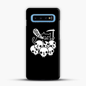 Cat Got Your Soul Samsung Galaxy S10 Case, Snap Case | Webluence.com