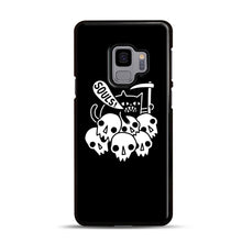 Load image into Gallery viewer, Cat Got Your Soul Samsung Galaxy S9 Case, Black Rubber Case | Webluence.com