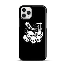Load image into Gallery viewer, Cat Got Your Soul iPhone 11 Pro Case, Black Rubber Case | Webluence.com