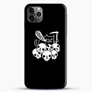 Cat Got Your Soul iPhone 11 Pro Max Case.jpg, Snap Case | Webluence.com