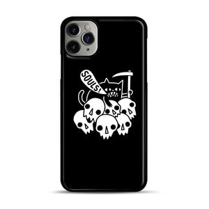 Cat Got Your Soul iPhone 11 Pro Max Case.jpg, Black Plastic Case | Webluence.com