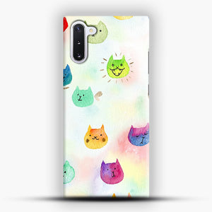 Cat confetti 1 Samsung Galaxy Note 10 Case, Snap Case | Webluence.com