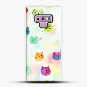 Cat confetti 1 Samsung Galaxy Note 9 Case, Snap Case | Webluence.com