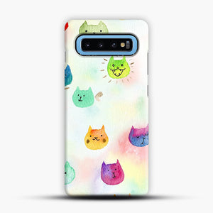 Cat confetti 1 Samsung Galaxy S10 Case, Snap Case | Webluence.com