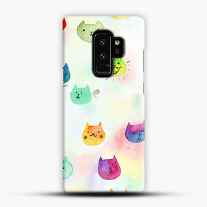 Cat confetti 1 Samsung Galaxy S9 Plus Case, Snap Case | Webluence.com