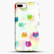 Load image into Gallery viewer, Cat confetti 1 iPhone 7 Plus/8 Plus Case, Snap Case | Webluence.com