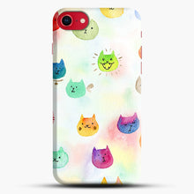 Load image into Gallery viewer, Cat confetti 1 iPhone 7/8 Case.jpg, Snap Case | Webluence.com
