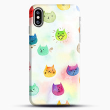 Load image into Gallery viewer, Cat confetti 1 iPhone XS Max Case, Snap Case | Webluence.com
