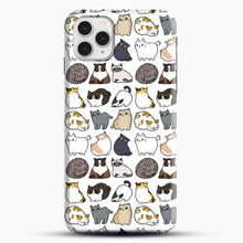 Load image into Gallery viewer, Cats Cats Cats iPhone 11 Pro Case, Snap Case | Webluence.com