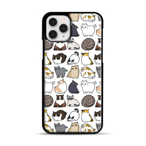 Cats Cats Cats iPhone 11 Pro Case, Black Rubber Case | Webluence.com